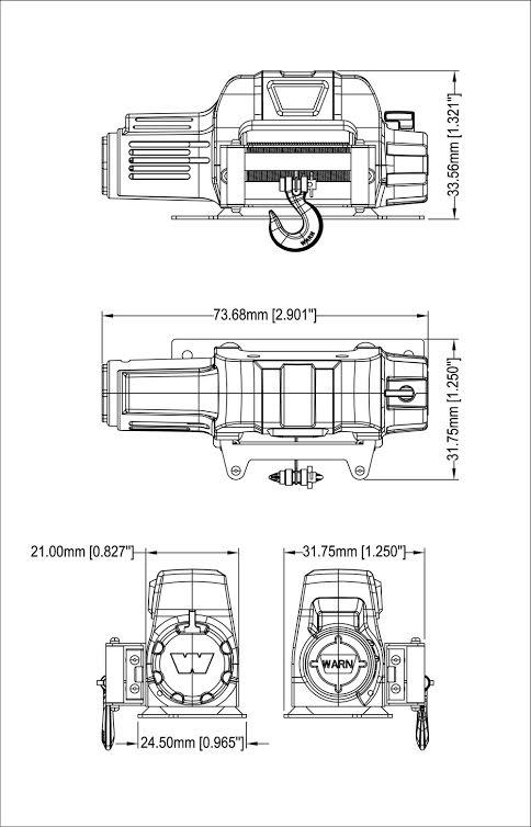 Defender D90 Pick Up et treuil Warn 9.5cti > RC4WD  Warn%20Z-S1079