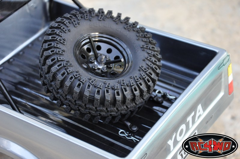 Truck Bed Mount Angled Spare Tire Carrier