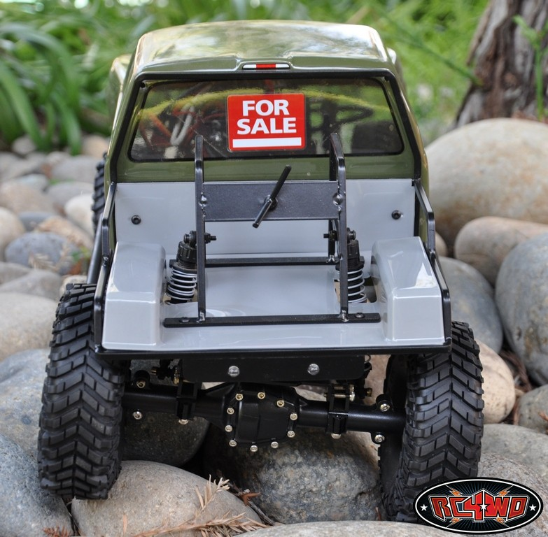 Tube Back Half for Axial SCX10 - RC4WD Forums