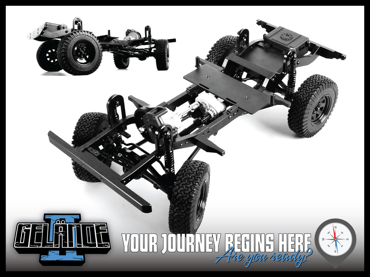 Rc4wd Gelande Ii Truck Kit Wd90 Body Set