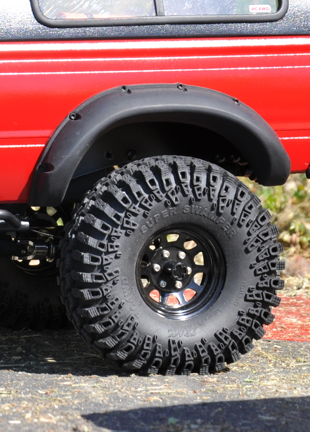 big boss fender flares for tamiya hilux and rc4wd mojave body. Black Bedroom Furniture Sets. Home Design Ideas