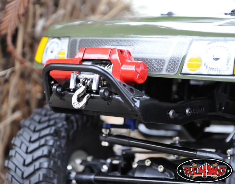 Tough Armor Stubby Front Bumper to fit Axial SCX10 with 2 2 tyres & WINCH  Mount